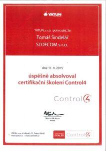 Montáž a servis zabezpečovacích systémů Control4