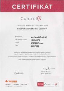 Montáž a servis zabezpečovacích systémů Control4 Brno