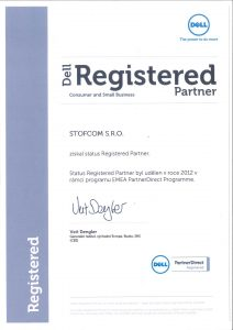 Certifikovaný servis počítačů a notebooku Dell