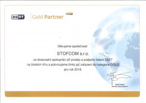 Certifikovaný prodejce produktů Eset Brno