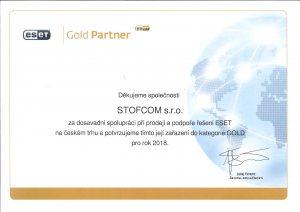 Certifikovaný prodej produktů Eset