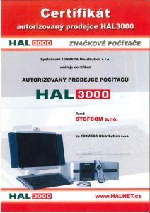 Certifikovaný prodej počítačů a notebooku HAL3000 Brno