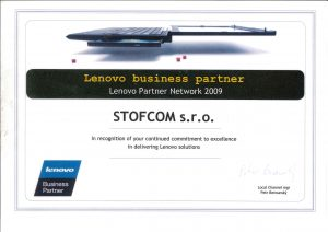 Certifikovaný servis počítačů a notebooku Lenovo