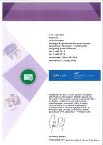 Certifikovaný prodejce AEC Microsoft Brno