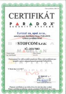 Montáž a servis zabezpečovacích systémů Paraxod